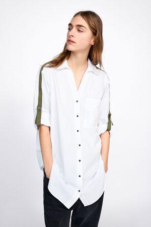 Zara Camisa banda lateral