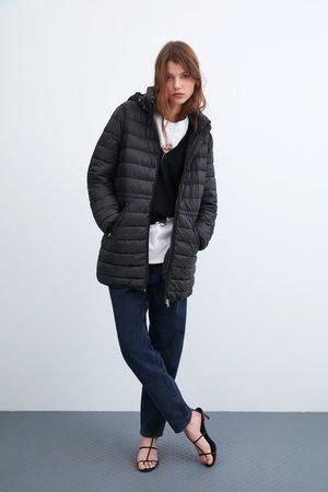 Zara Mujer Abrigos - Abrigo acolchado ligero embolsable
