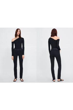 Zara Jeans z1975 straight leg cinturón