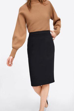 Zara Mujer De tubo - Falda tubo básica