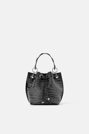Zara Mujer Bolsas - Bolso saco micro tachas