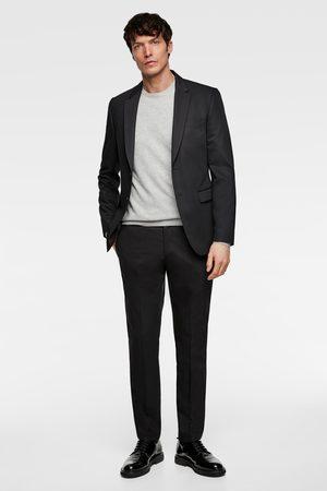 Zara Hombre Sacos - Blazer traje cinzato comfort