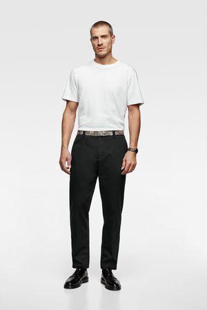 Zara Hombre Playeras - Camiseta básica