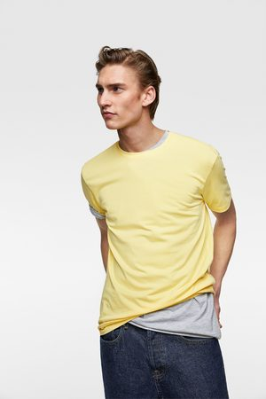 Zara Camiseta básica slim fit