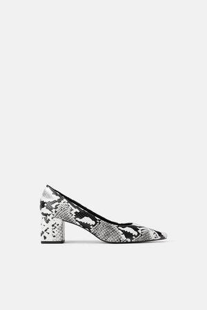 Zara Mujer Tacones - Zapato tacón ancho