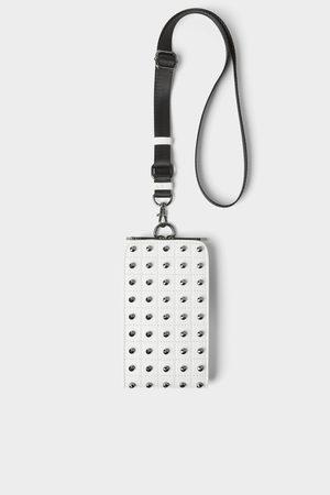 Zara Hombre Celulares - Funda porta teléfono tachas