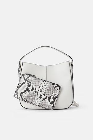 Zara Mujer Carteras y Monederos - Bolso saco cartera interior