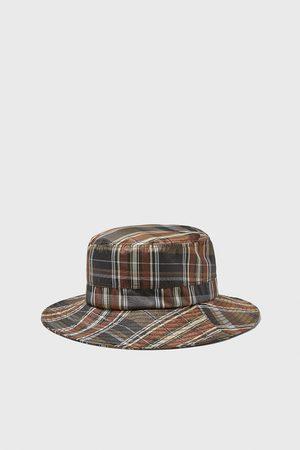 Zara Hombre Sombreros - Sombrero soft cuadros cbe4ca09a78