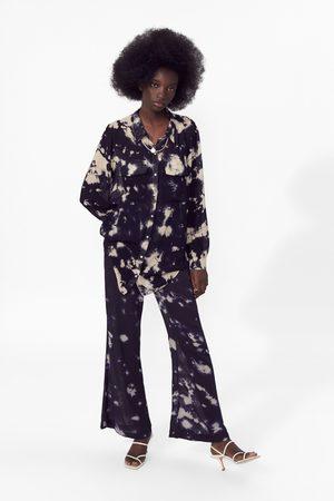 Zara Mujer Camisas - Camisa tie dye
