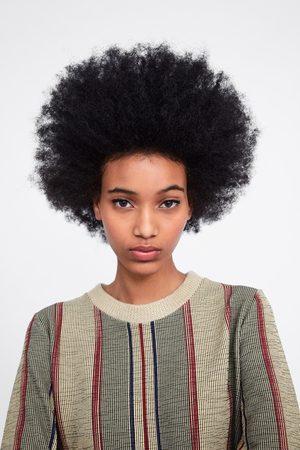 Zara Vestido textura combinado