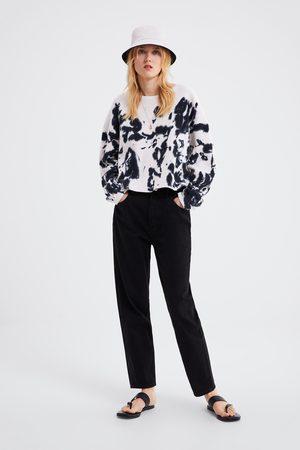 Zara Mujer Sudaderas - Sudadera tie dye