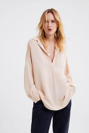 Zara Blusa oversize