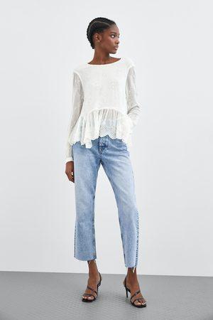 Zara Camisa bordado