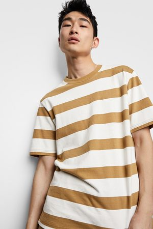 Zara Hombre Playeras - Camiseta rayas premium