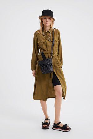 Mujer Vestidos De Camiseros Ahora Zara Y Online ¡compara 8wkn0OP