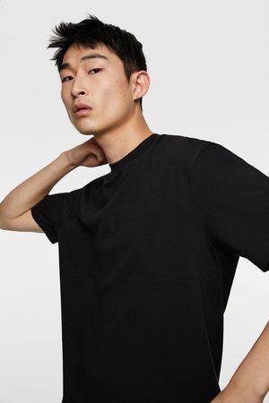 Zara Hombre Playeras - Camiseta compact premium