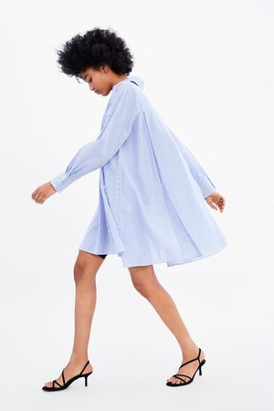 Zara Camisa oversize rayas
