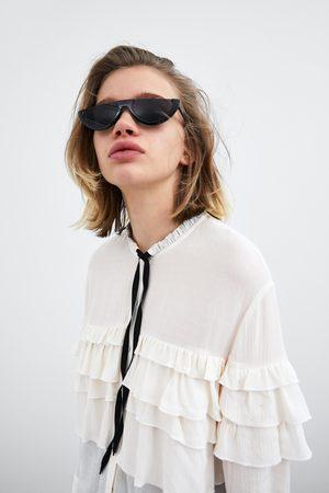 Zara Camisa volantes lazo