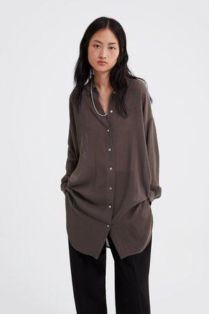 Camisas de mujer Zara tiendas ¡Compara ahora y compra al mejor precio! 246c8221270