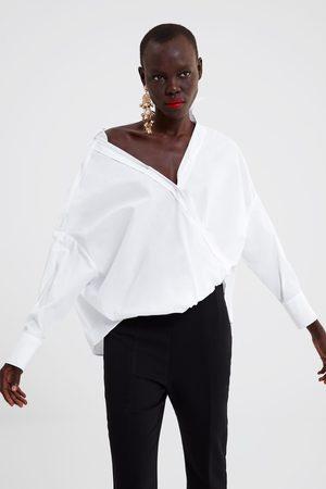 Zara Camisa popelín