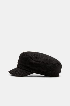 Gorras de mujer Zara gorra negra ¡Compara ahora y compra al mejor ... e0190e3c406