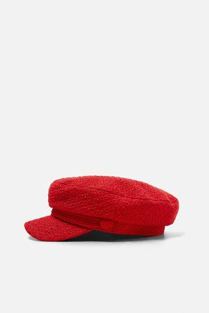Zara Gorra marinera tweed