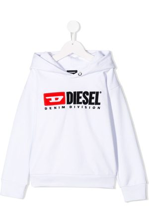 Diesel Sudadera con capucha y logo en contraste