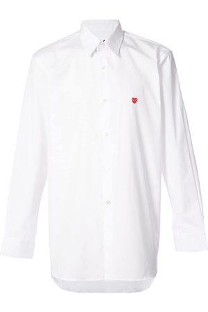 Comme des Garçons Camisa con logo de corazón