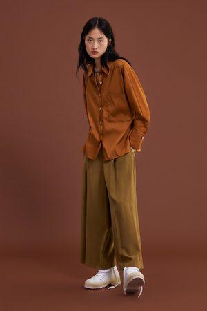 Zara Camisa bolsillo