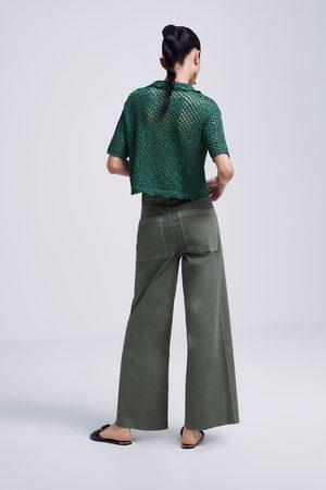 ecf77f3cd3 Pantalones Mezclilla Y Compra Mujer ¡compara Ahora Zara De Pantalon  xw6P5q0XS8