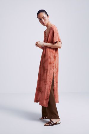 Zara Túnica tie dye