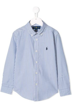 Ralph Lauren Camisa a rayas con logo