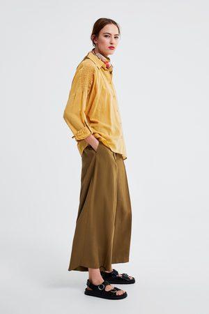 Zara Camisa combinada elásticos