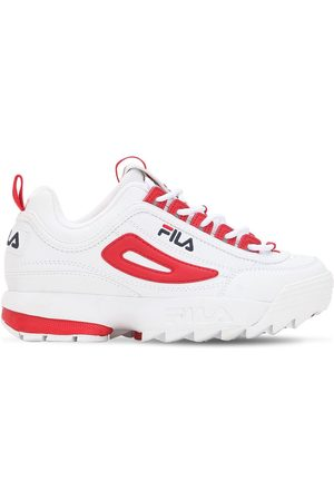 Fila Mujer Tenis - Disruptor Cb Faux Leather Low Sneakers