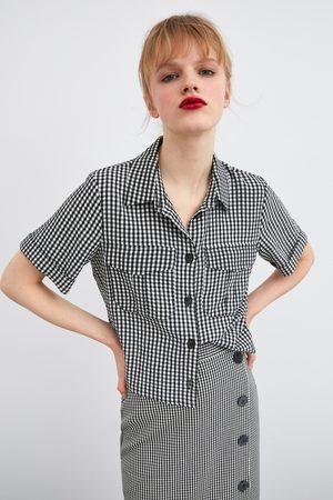 Zara Camisa cuadro vivhy