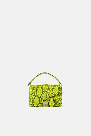 Zara Mujer Bolsas - Bolso mini city estampado animal