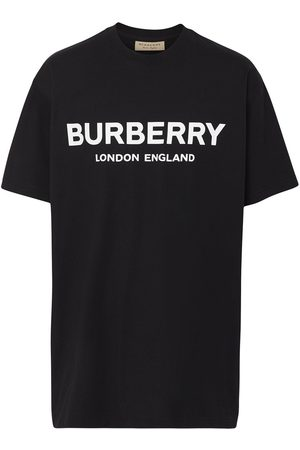 Burberry Playera con logo estampado