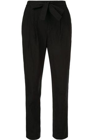 Paule Ka Pantalones de vestir con lazo en la cintura