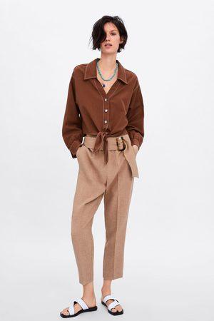 b1f662a7e Tienda Camisas Y Blusas de mujer color café ¡Compara ahora y compra ...