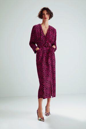 Zara Vestido estampado lunares edición limitada