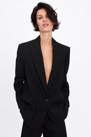 Zara Blazer oversize botón
