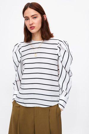 Zara Camisa manga abullonada