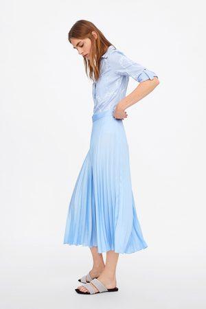 Zara Camisa rayas estampado cadenas