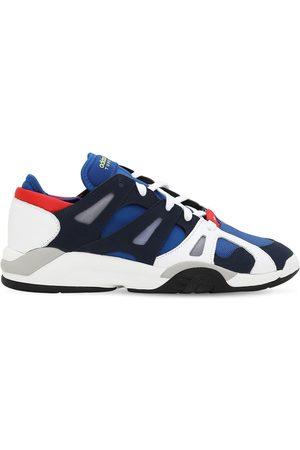"""adidas Sneakers """"dimension"""" De Piel Y Malla"""
