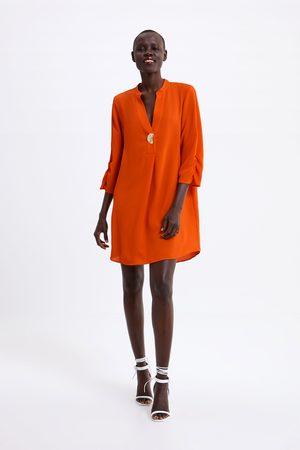Zara Vestido corto túnica