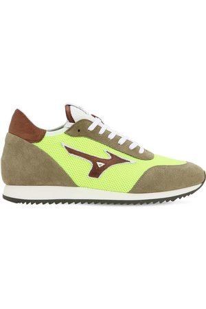 """Mizuno Sneakers """"l.s. Etamin"""" De Piel Y Tela"""
