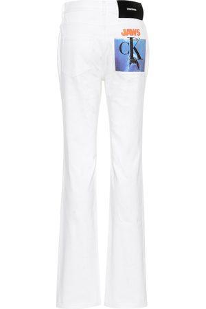 Calvin Klein High-rise straight jeans