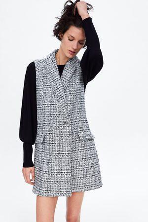 Zara Mono vestido tweed