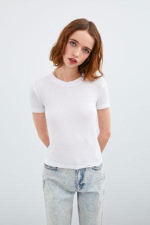 Zara Camiseta manga corta