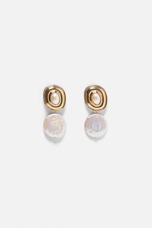 Zara Pendientes perlas